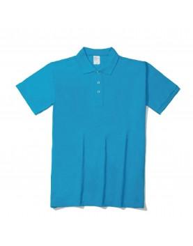 短袖CVCpolo衫 - 12色