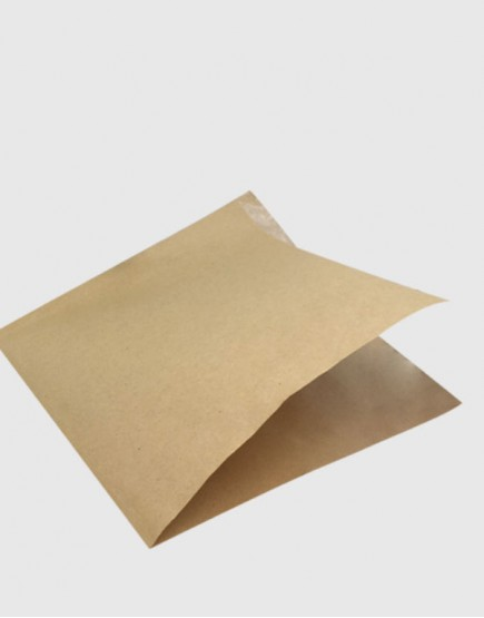 牛皮L形漢堡紙17x17