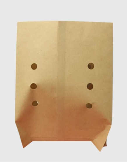 防油小吃打洞紙袋15x20
