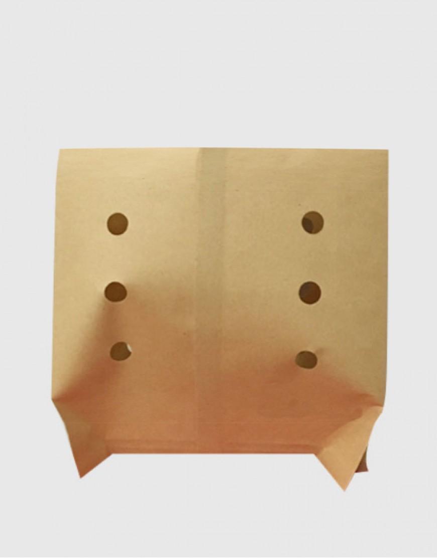 防油小吃打洞紙袋18x18