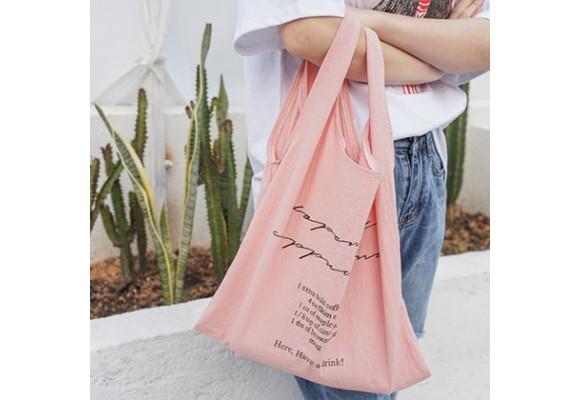 水洗棉布背心袋及大容量手提包