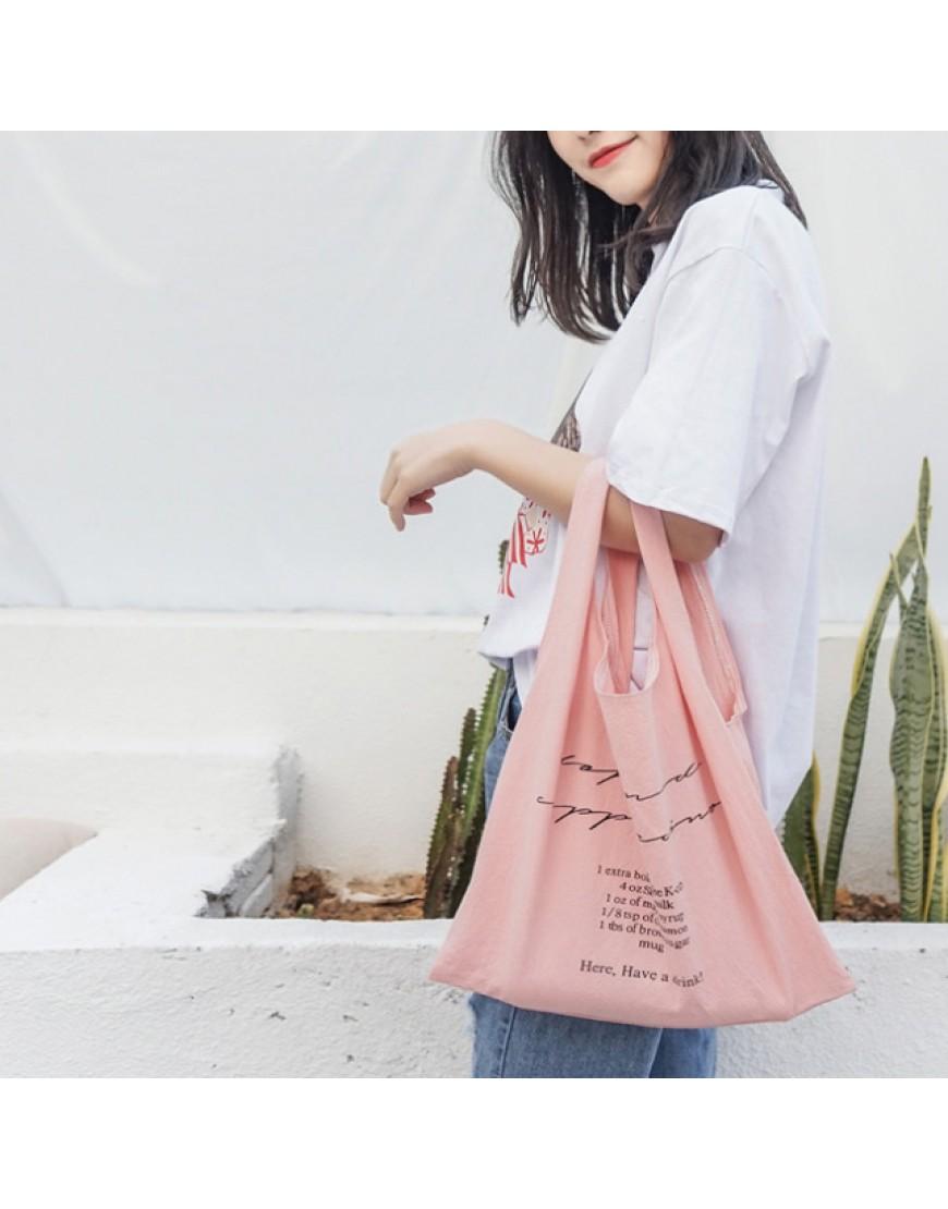 水洗棉布背心袋 | 4色輕便購物袋