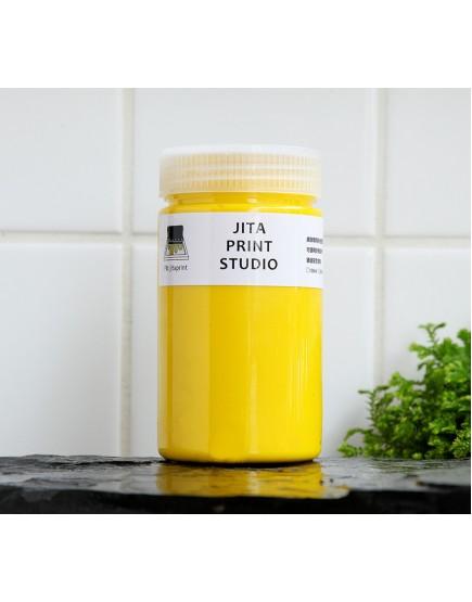 黃色網印/絹版水性油墨/大罐300ML