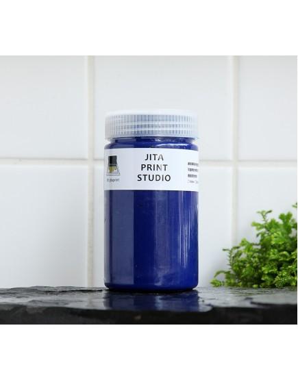 藍色網印/絹版水性油墨/大罐300ML