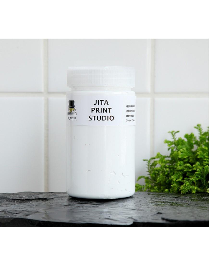 白色網印/絹版水性油墨/大罐300ML
