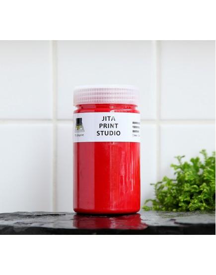 紅色網印/絹版水性油墨/大罐300ML