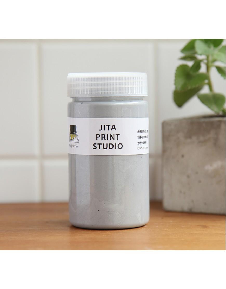 淺灰色網印/絹版水性油墨/大罐300ML