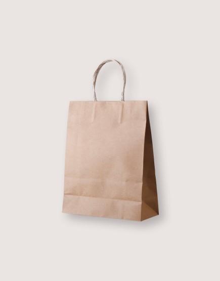 牛皮紙袋 | 紙繩手提 | S | 25入