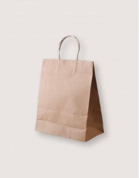 牛皮紙袋 | 紙繩手提 | M | 25入