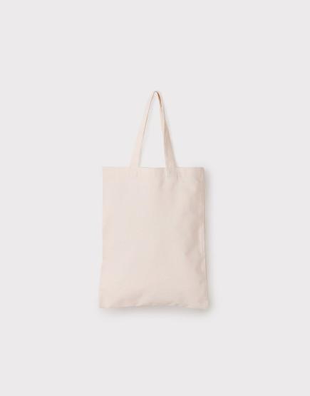帆布手提包│米白色│直式布包│26x32cm