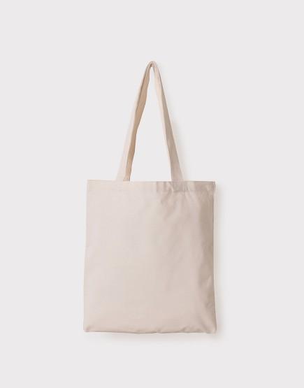 帆布手提包│米白色│直式布包│33x38cm