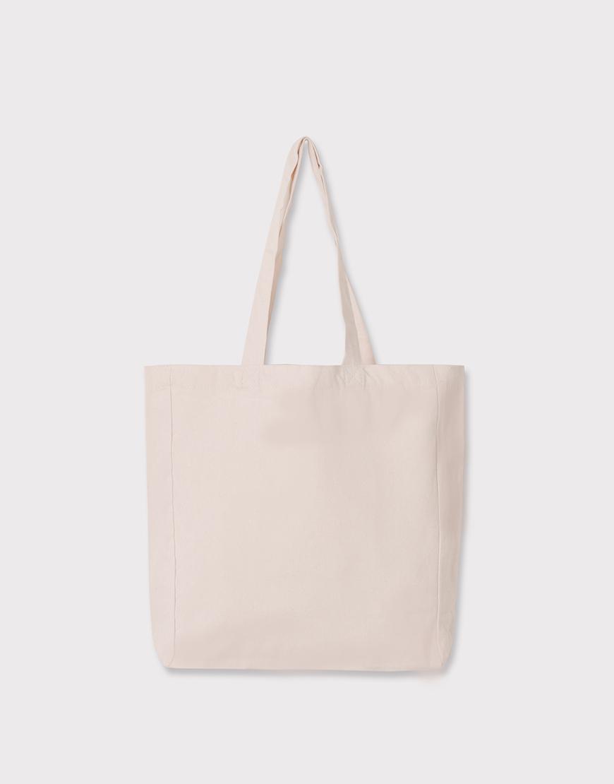 輕帆布單層│有底有側│購物袋