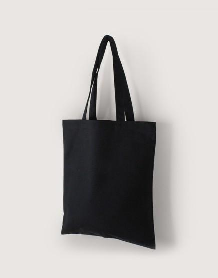 帆布直式袋 | 中帆布 | 黑色 | 單層款