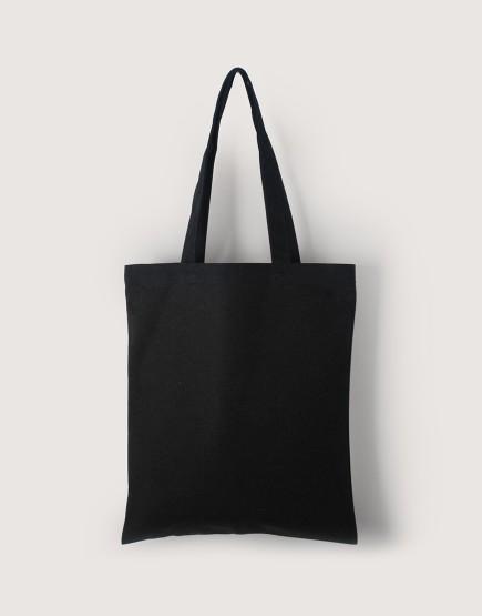 帆布直式袋 | 中帆布 | 黑色 | 雙層款
