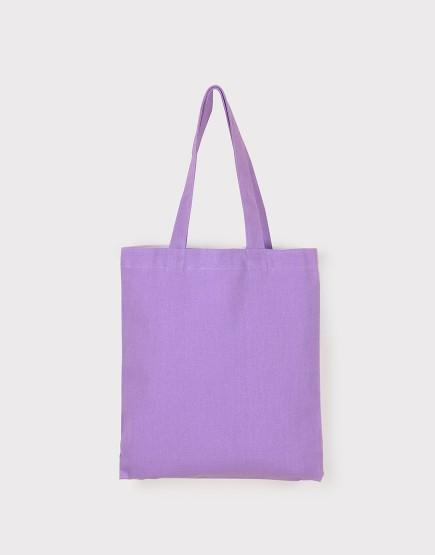 中帆布肩背包│多色│直式布包│紫色
