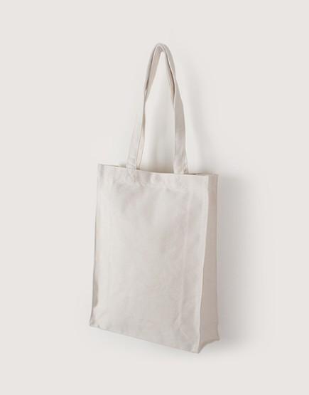 帆布直式袋 | 有底有側 | 銅扣款