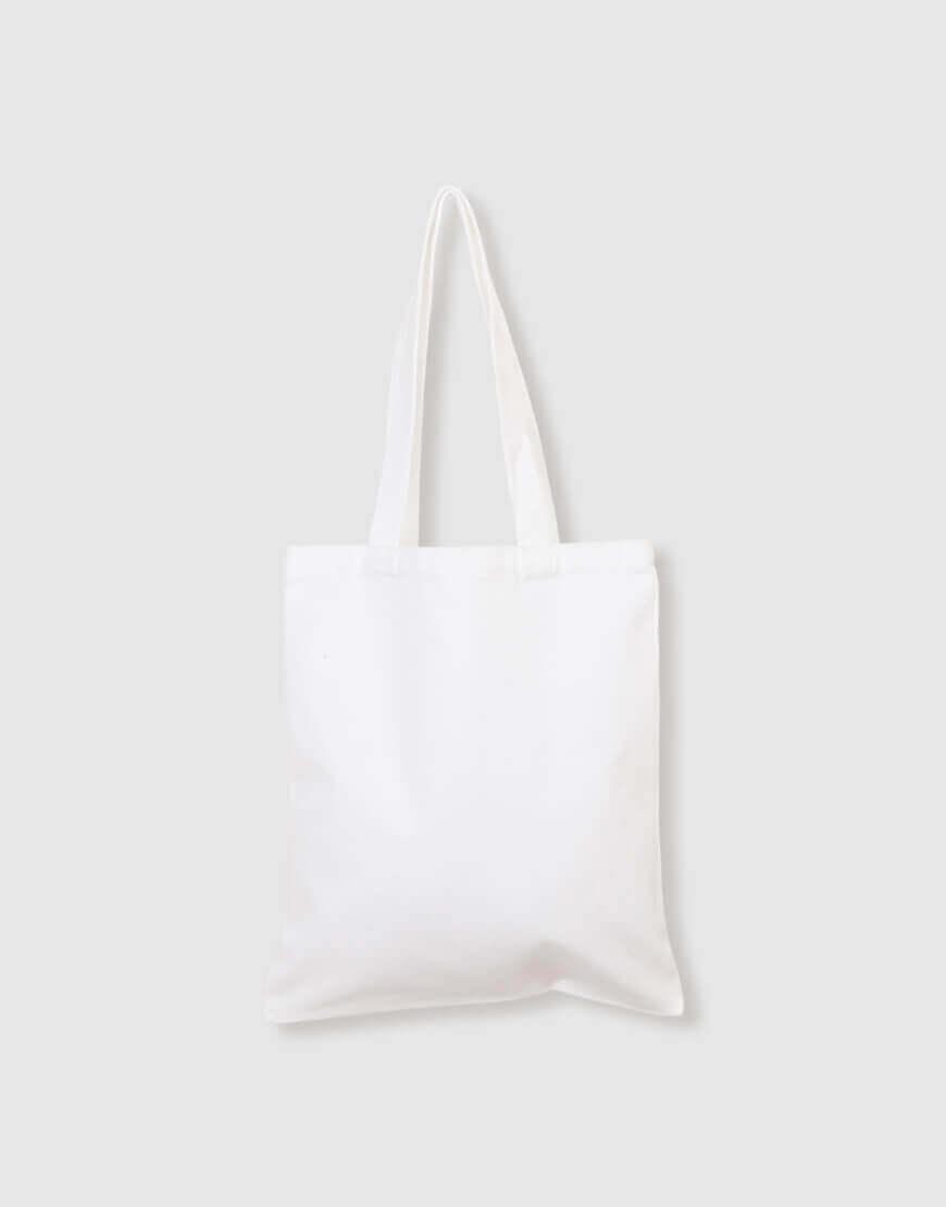 12安全滌純白直式袋