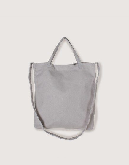 厚帆橫式袋│有底兩用袋│單層│灰色