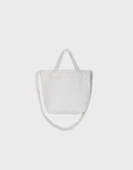 小朋友的兩用袋 | 帆布托特包 | 米白色