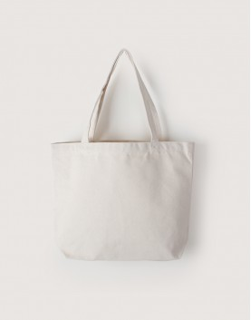 帆布橫式袋 | 中帆布 | 雙層 | 銅扣款