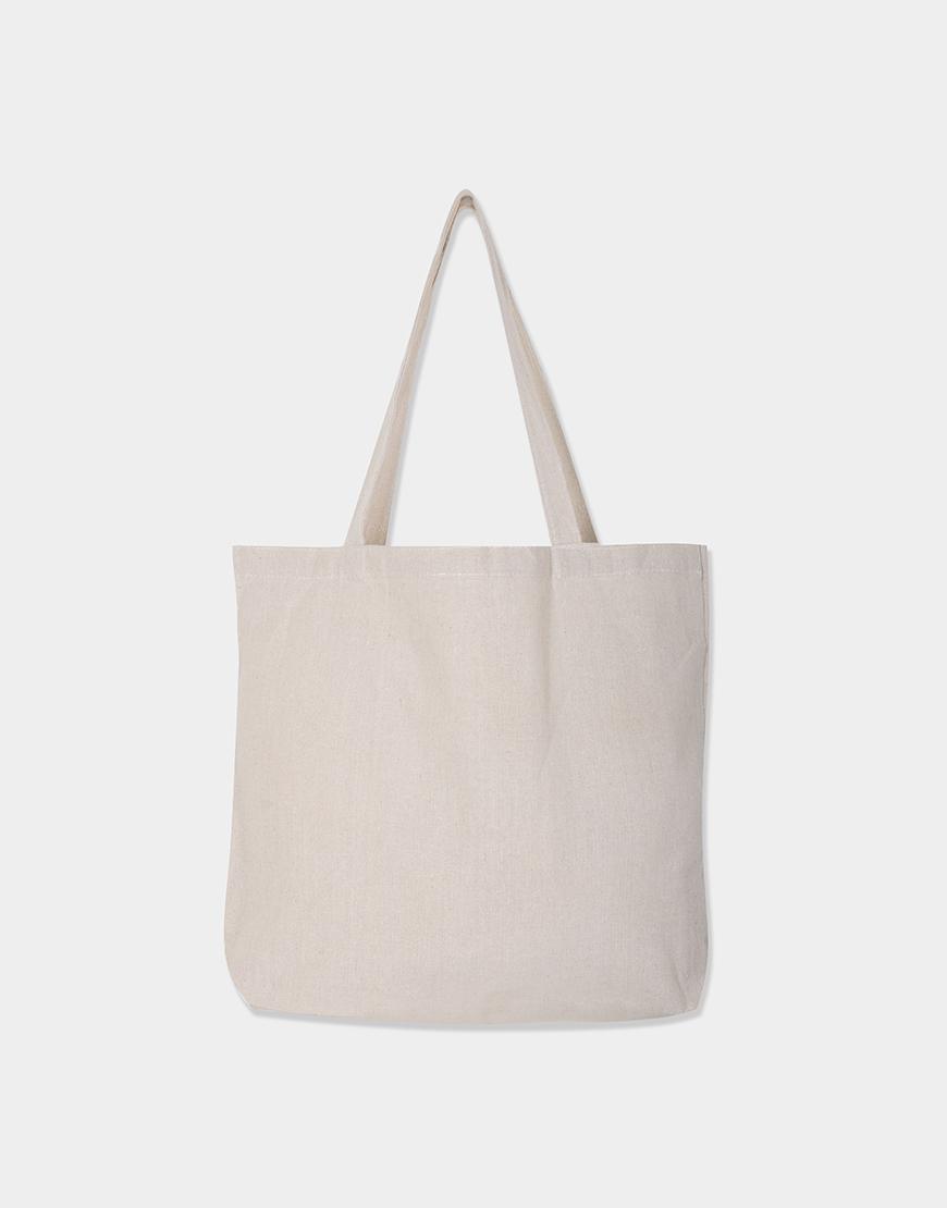 棉麻款│橫式側背布包│單層