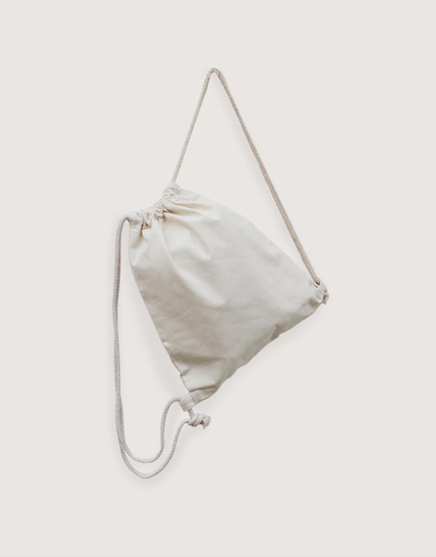 束口後背包 | 輕帆布 | 小朋友專用尺寸