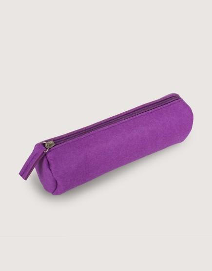羊毛氈筆袋 | 紫色