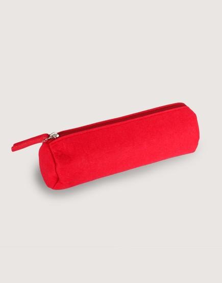 羊毛氈筆袋 | 紅色