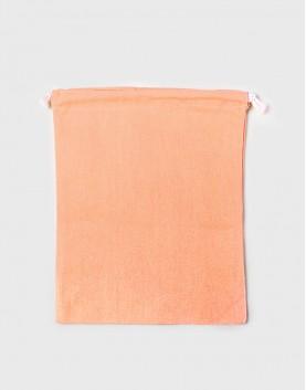 多色大號束口帆布收納袋│橘色│包裝袋│禮物袋│可印圖