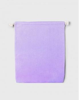 多色大號束口帆布收納袋│紫色│包裝袋│禮物袋│可印圖