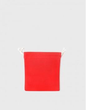 多色小號束口帆布收納袋│紅色│包裝袋│禮物袋│可印圖