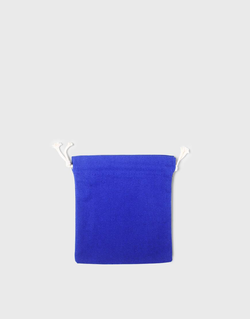 多色小號束口帆布收納袋│深藍色│包裝袋│禮物袋│可印圖