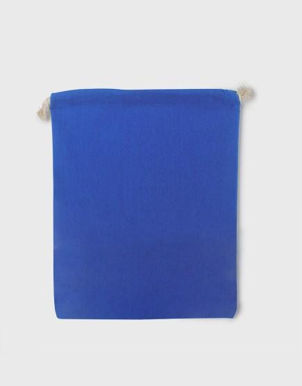 多色大號束口帆布收納袋│深藍色│包裝袋│禮物袋│可印圖