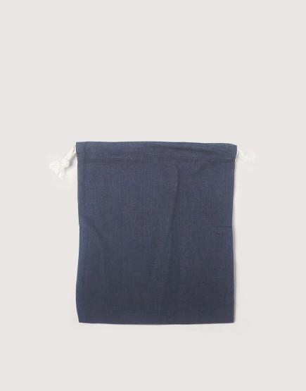 棉麻中號束口收納袋│灰色│包裝袋│禮物袋