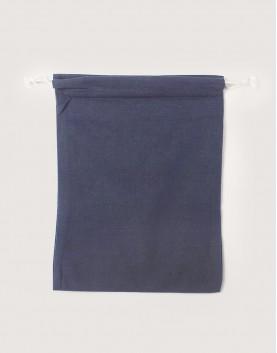 棉麻大號束口收納袋│灰色│包裝袋│禮物袋