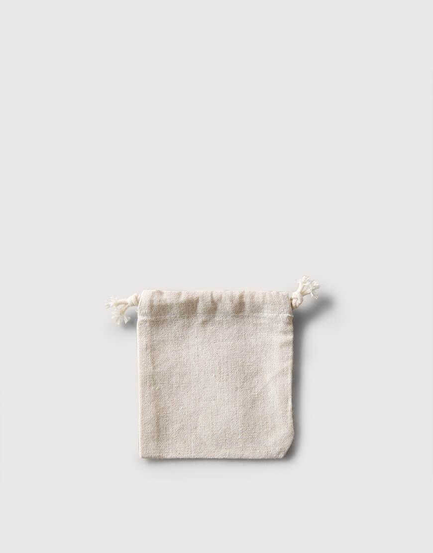 束口棉麻布收納袋│迷你尺寸│包裝袋│禮物袋│可印圖