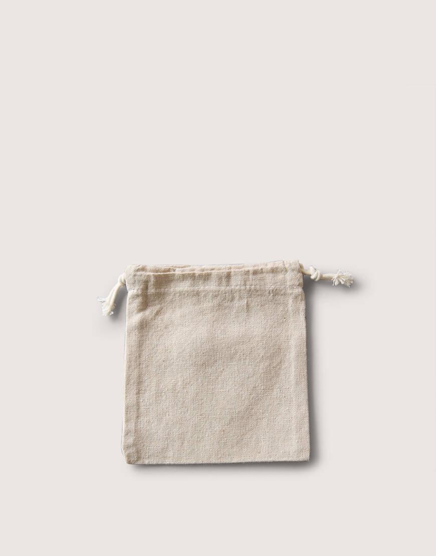 束口棉麻布收納袋│小尺寸│包裝袋│禮物袋│可印圖