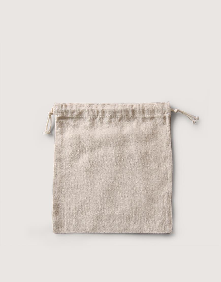 束口棉麻布收納袋│中尺寸  包裝袋   禮物袋   可印圖