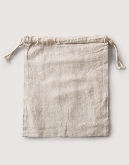 束口棉麻布收納袋│大尺寸│包裝袋│禮物袋│可印圖