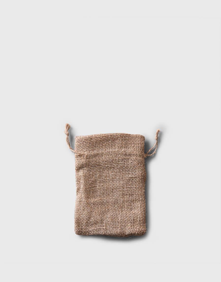 麻布束口袋│小尺寸│包裝袋│禮物袋│可印圖