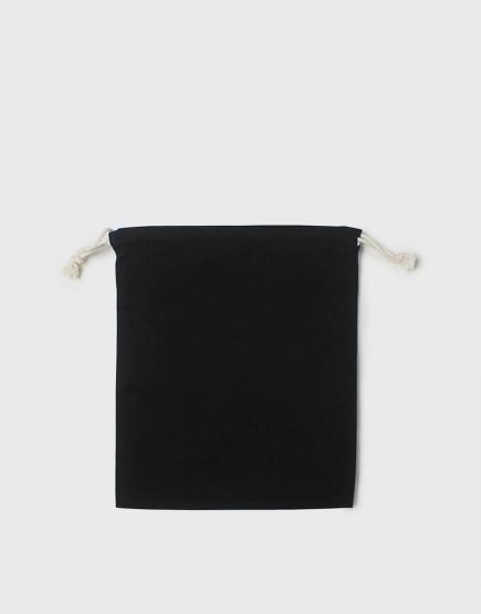 多色中號束口帆布收納袋│黑色│包裝袋│禮物袋│可印圖