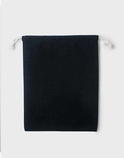 多色大號束口帆布收納袋│黑色│包裝袋│禮物袋│可印圖