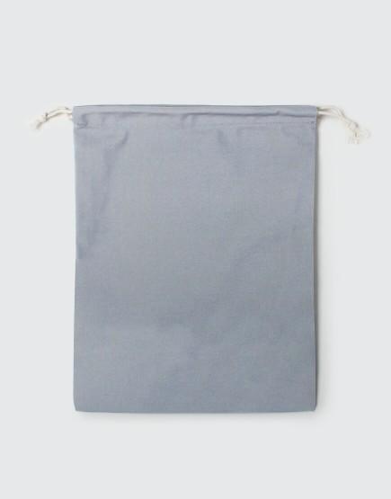 多色大號束口帆布收納袋│灰色│包裝袋│禮物袋│可印圖