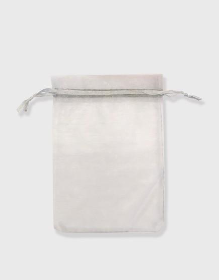 雪紗袋│包裝束口袋│禮物袋│灰色