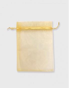 雪紗袋│包裝束口袋│禮物袋│金色