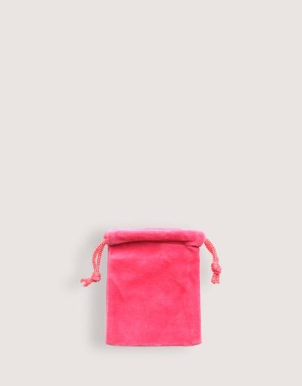 天鵝絨束口袋│桃紅色│包裝袋│禮物袋