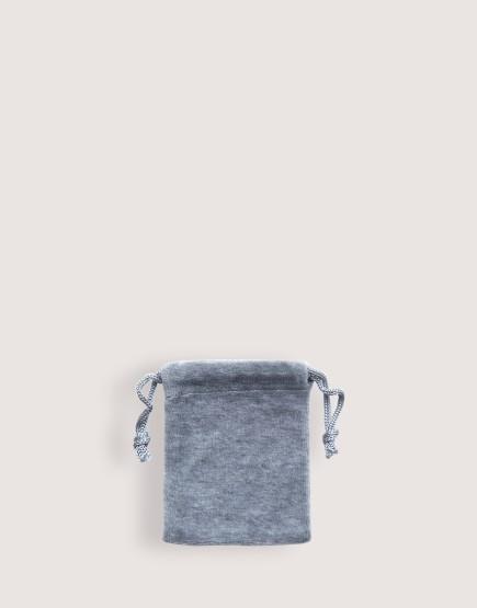 天鵝絨束口袋│灰色│包裝袋│禮物袋