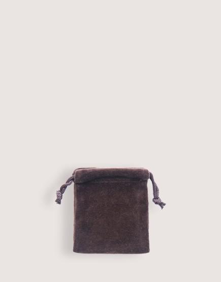 天鵝絨束口袋│咖啡色│包裝袋│禮物袋