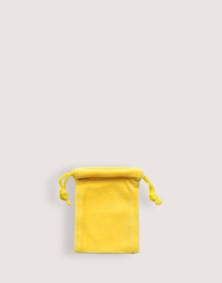 天鵝絨束口袋│黃色│包裝袋│禮物袋