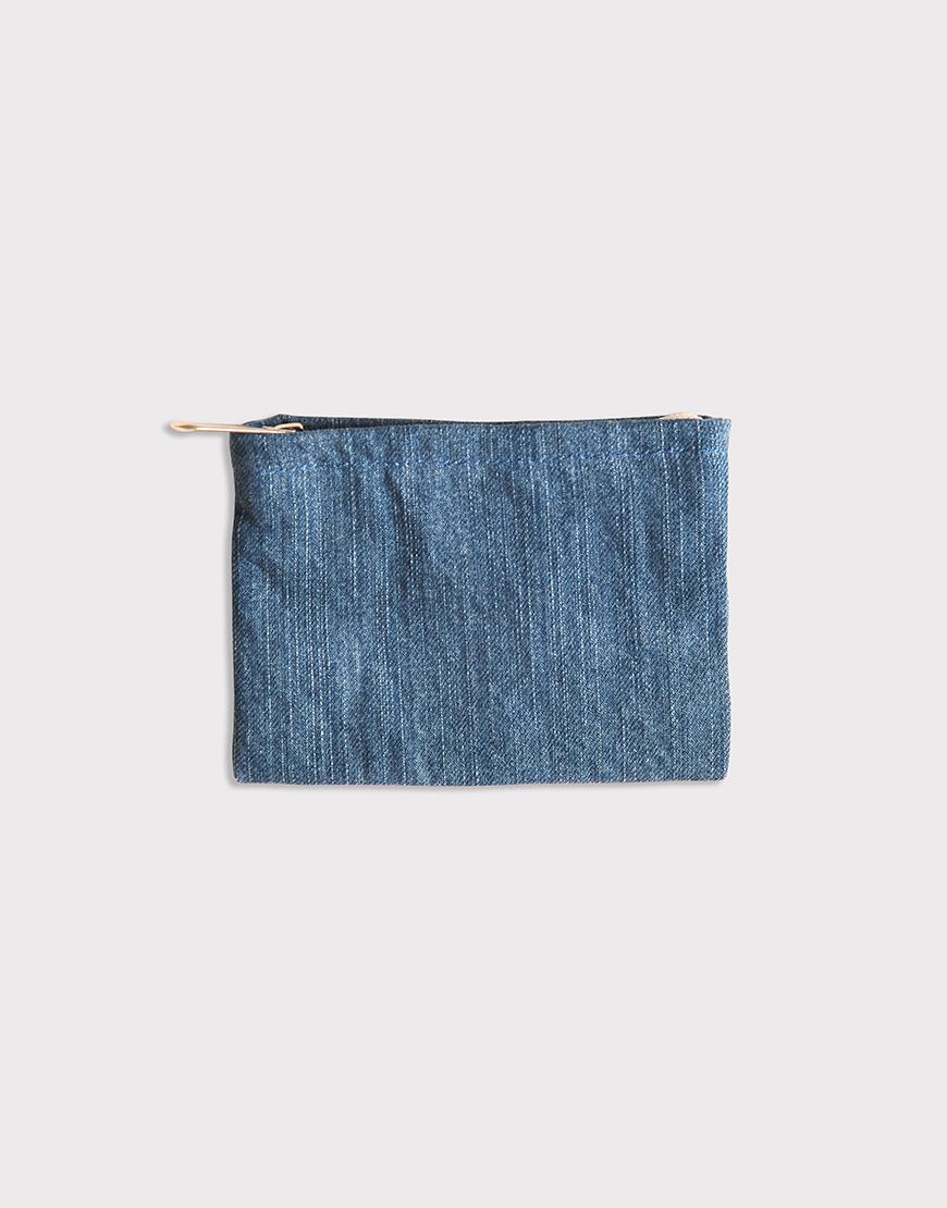 牛仔布零錢包 | 布製零錢包 | 拉鍊零錢袋